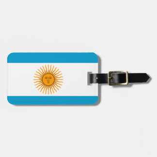 Flag of Argentina Luggage Tag