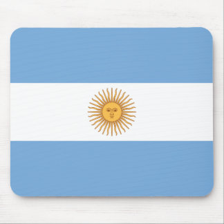 Flag of Argentina Mouse Pad