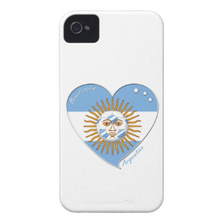 Flag of ARGENTINA national SOCCER May sun iPhone 4 Case-Mate Case