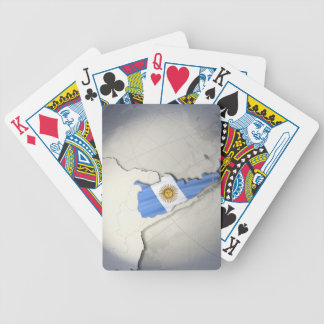 Flag of Argentina Bicycle Poker Deck