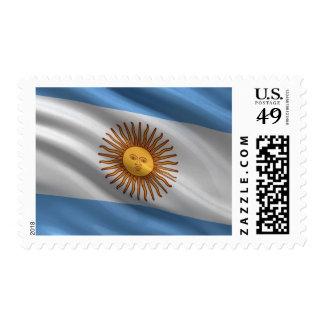 Flag of Argentina Postage