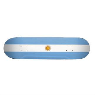 Flag of Argentina Skateboard Deck