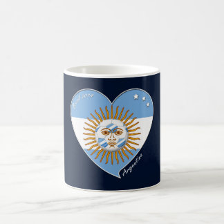 Flag of ARGENTINA SOCCER selection wins Coffee Mug