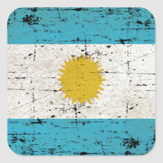 Flag of Argentina Square Sticker
