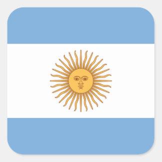 Flag of Argentina Square Sticker