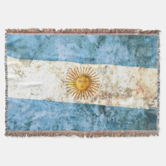Flag of Argentina Throw