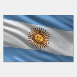 Flag of Argentina Yard Signs