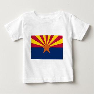 Flag of Arizona Baby T-Shirt