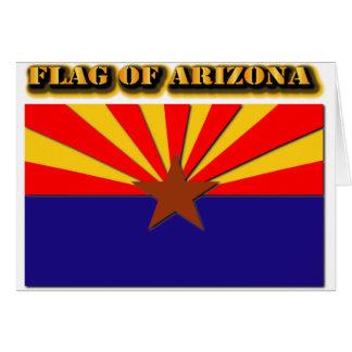 Flag of Arizona Card