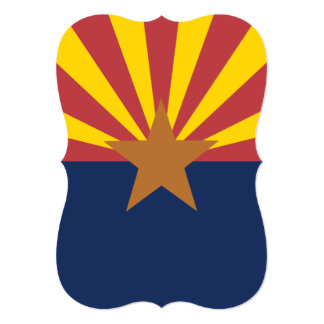 Flag of Arizona Card