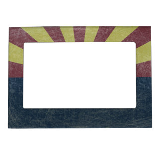 Flag of Arizona Picture Frame Magnets