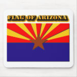Flag of Arizona Mousepads