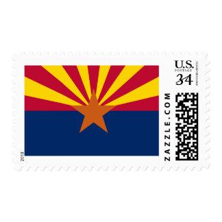 Flag of Arizona Postage Stamps