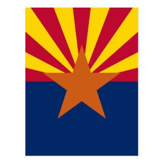 Flag of Arizona Postcard