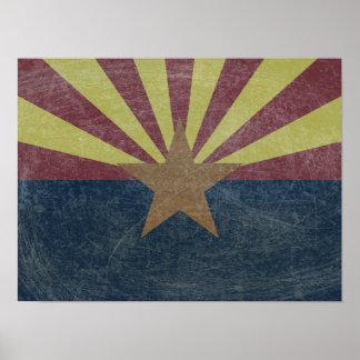 Flag of Arizona Poster