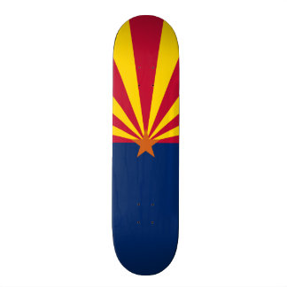 Flag of Arizona Skateboard Deck