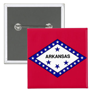 Flag of Arkansas Button