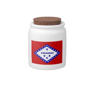 Flag of Arkansas. Candy Dish