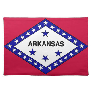 Flag of Arkansas Cloth Placemat