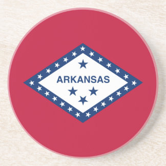 Flag of Arkansas Drink Coaster