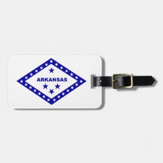 Flag of Arkansas. Luggage Tag
