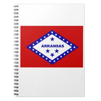 Flag of Arkansas. Notebook