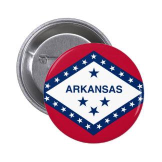 Flag of Arkansas Pinback Button