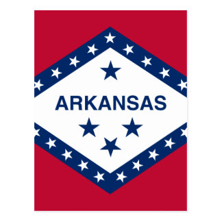 Flag of Arkansas Postcard