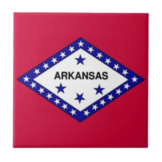 Flag of Arkansas Ceramic Tile