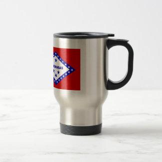 Flag of Arkansas. Travel Mug