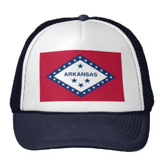 Flag of Arkansas Trucker Hat