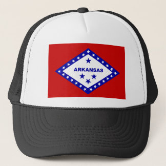 Flag of Arkansas. Trucker Hat
