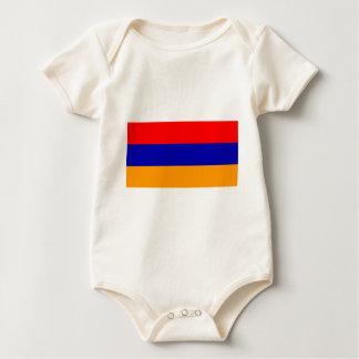 Flag of Armenia Baby Bodysuit