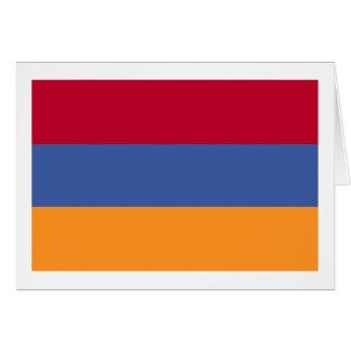 Flag of Armenia Greeting Card
