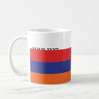 Flag of Armenia Classic White Coffee Mug