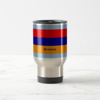 Flag of Armenia 15 Oz Stainless Steel Travel Mug