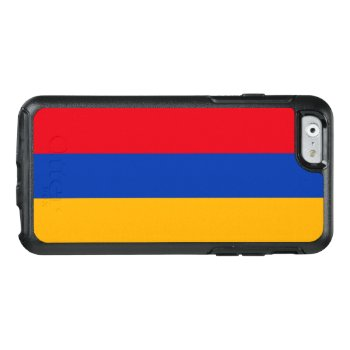 Flag Of Armenia Otterbox Iphone Case by Flagosity at Zazzle
