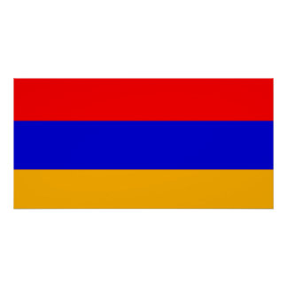 Flag of Armenia Poster
