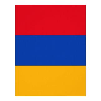 Flag of Armenia - Yeraguyn Letterhead