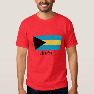 Flag of Aruba Mens T-shirt