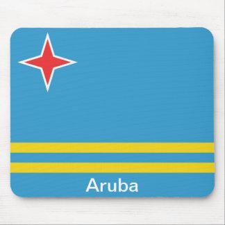 Flag of Aruba Mouse Pad