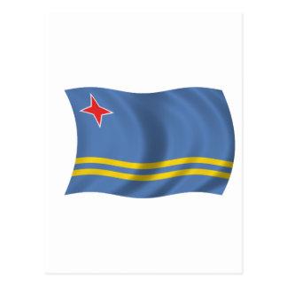 Flag of Aruba Postcards