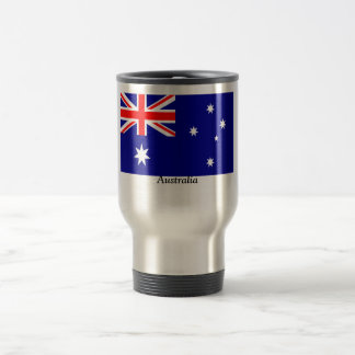 Flag of Australia 15 Oz Stainless Steel Travel Mug