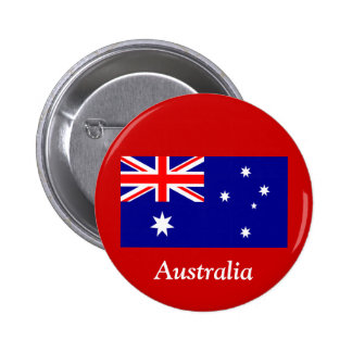 Flag of Australia 2 Inch Round Button