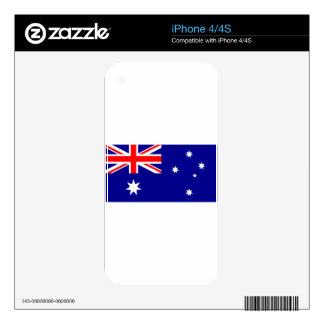 Flag of Australia - Australian Flag Decal For iPhone 4
