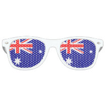 Flag of Australia - Australian Flag Retro Sunglasses