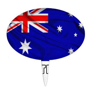 Flag of Australia Cake Topper