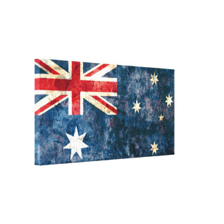 Flag of Australia Canvas Print