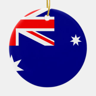 Australian Flag Ornaments & Keepsake Ornaments | Zazzle
