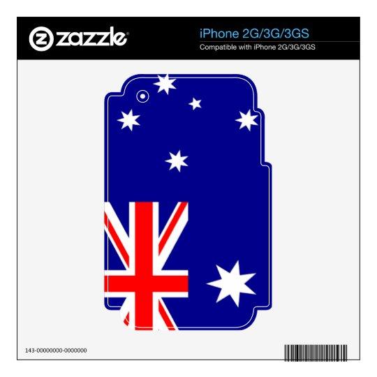 Flag of Australia iPhone 3G Skins